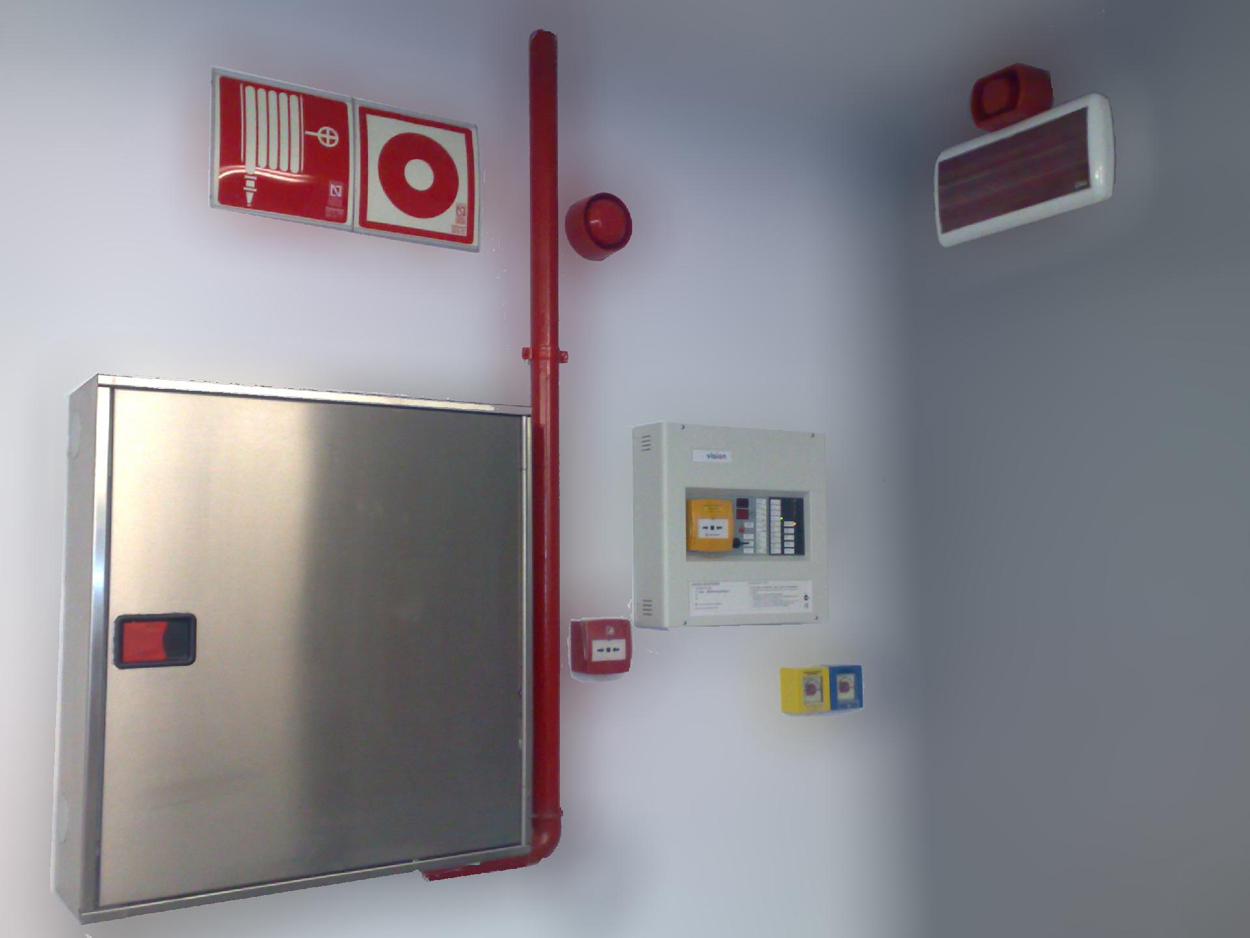 Afe-antifuegos. Sistemas de detección y extinción de incendios